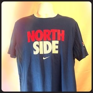 Nike Men's XL Shirt Cubs Blue North Side